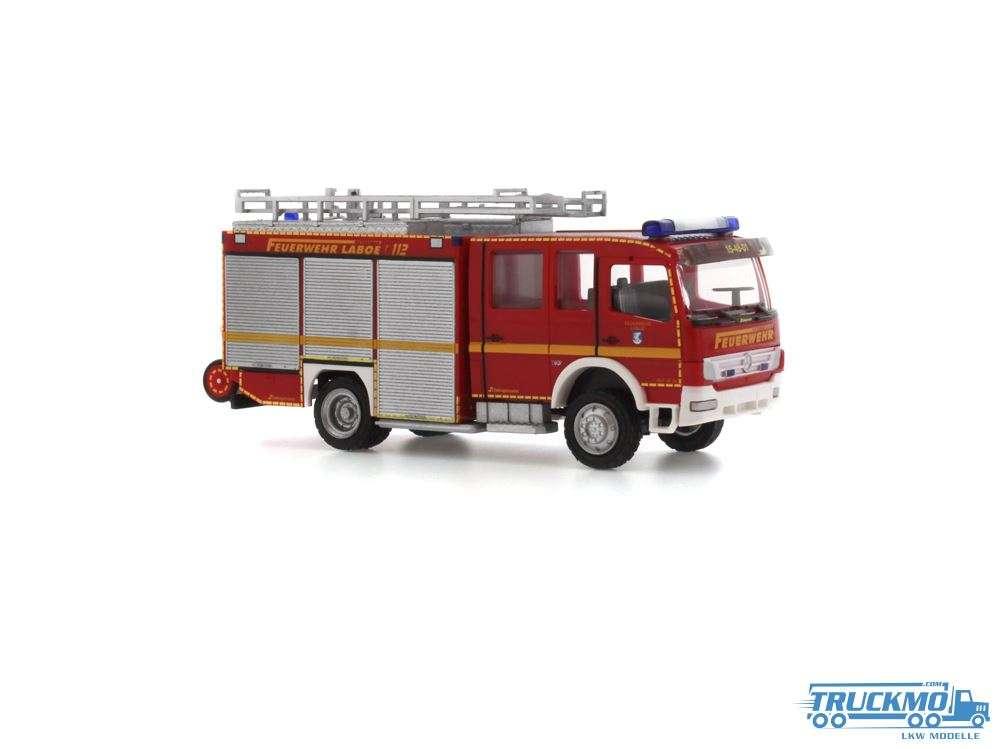 Rietze Feuerwehr Laboe Mercedes Benz HLF 20 Schlingmann 68259