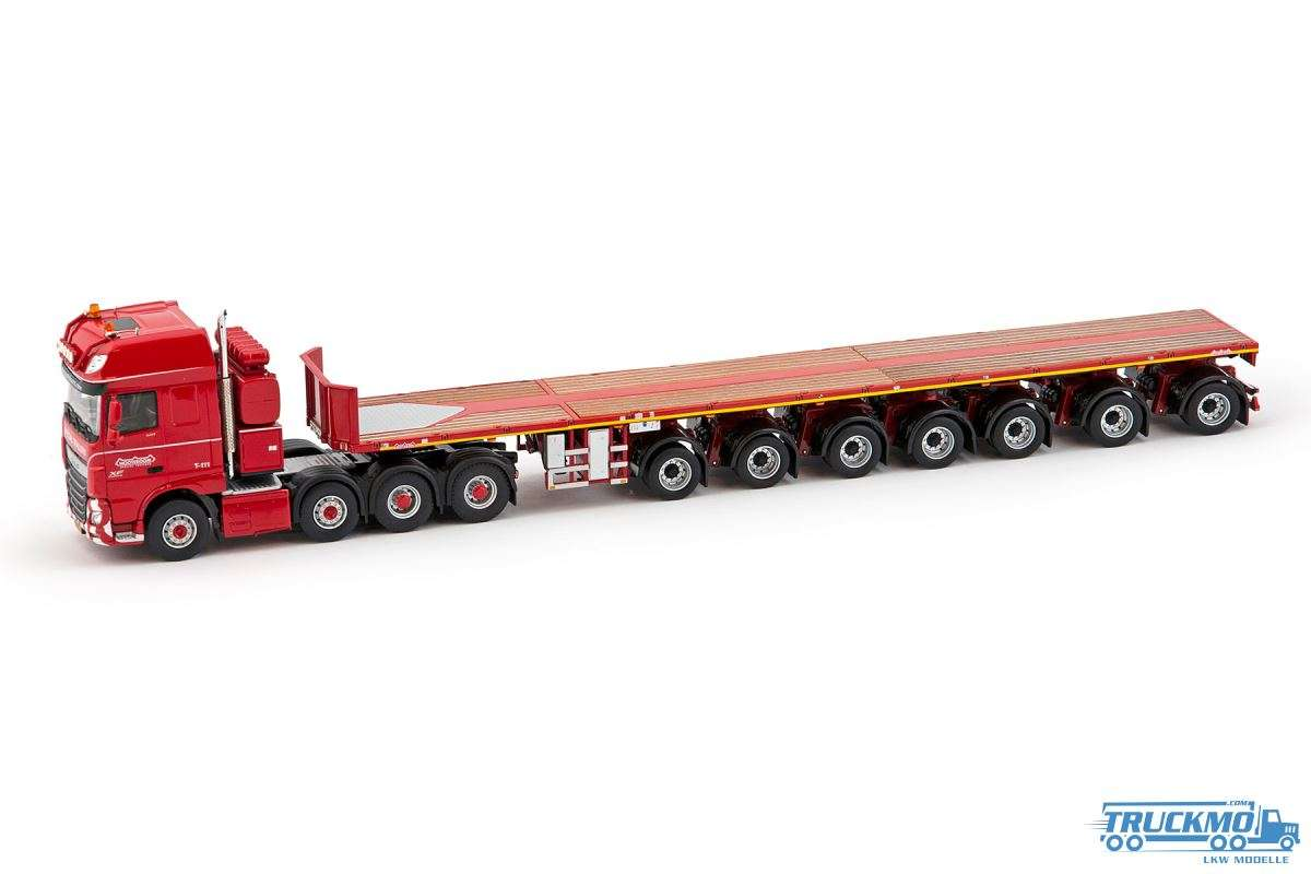 IMC Models Nooteboom Red Line DAF XF Super Space Cab Ballasttrailer 5672251