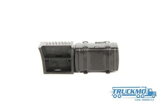WSI Parts Scania Batteriekasten + Tank 10-1127