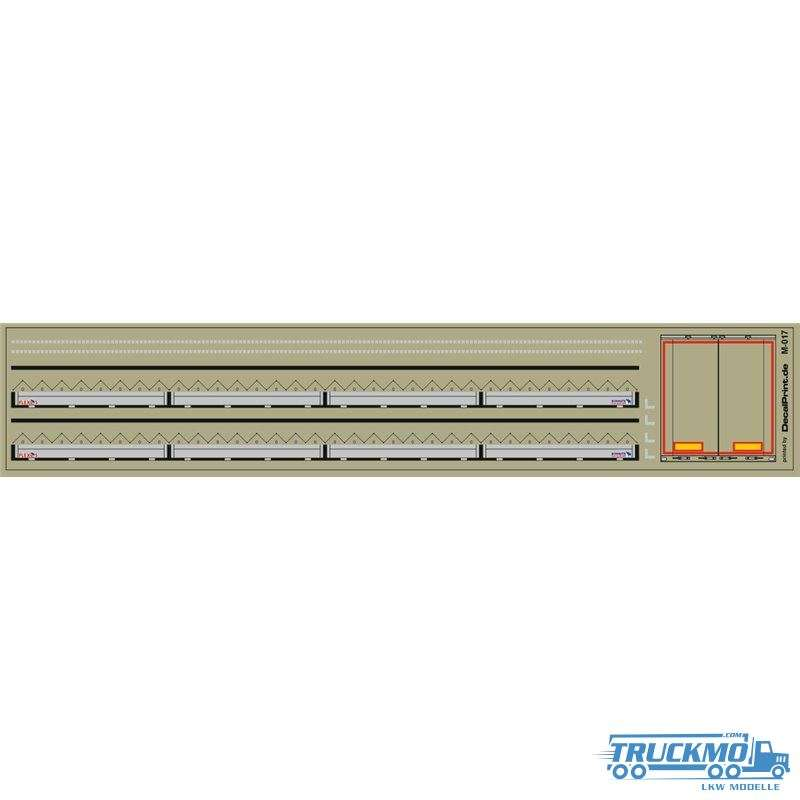 Decal Trailerdetails Gardinenplane 12M-017