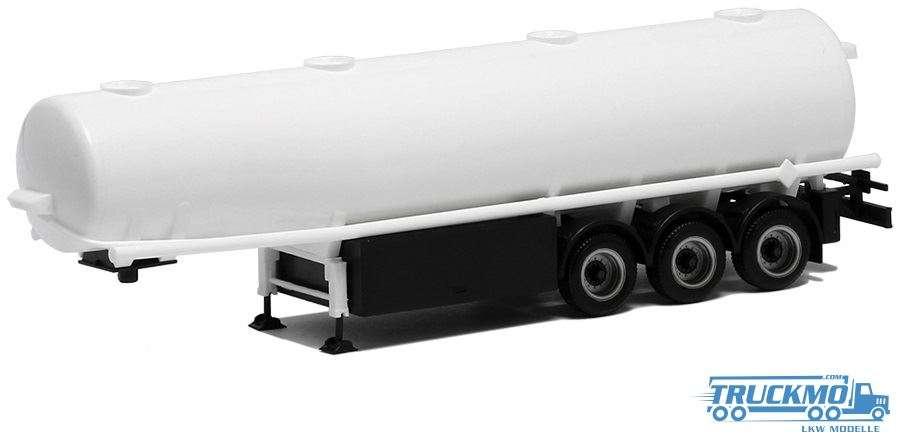 Herpa Benzintankauflieger weiß 660212