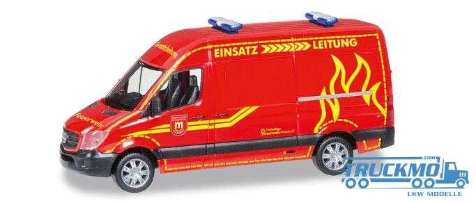 Herpa Feuerwehr Wilsdruff Mercedes-Benz Sprinter Hochdach 093491