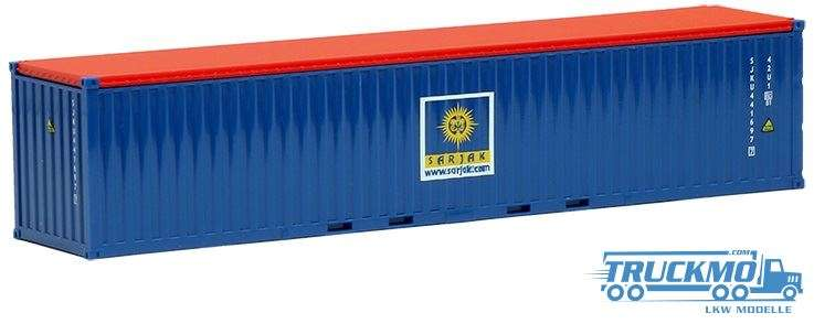 AWM Sarjak 40ft. open top Container 491933