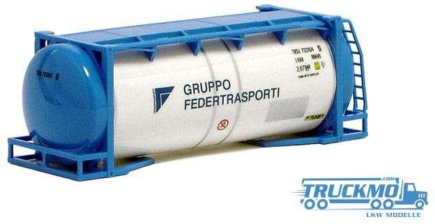 AWM Gruppo Federtrasporti 20ft. van Hool Tankcontainer überlang 491161