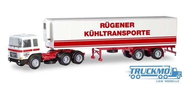Herpa VEB KV Stralsund / Ostseetrans Roman Diesel Kühlkoffer Sattelzug 310680