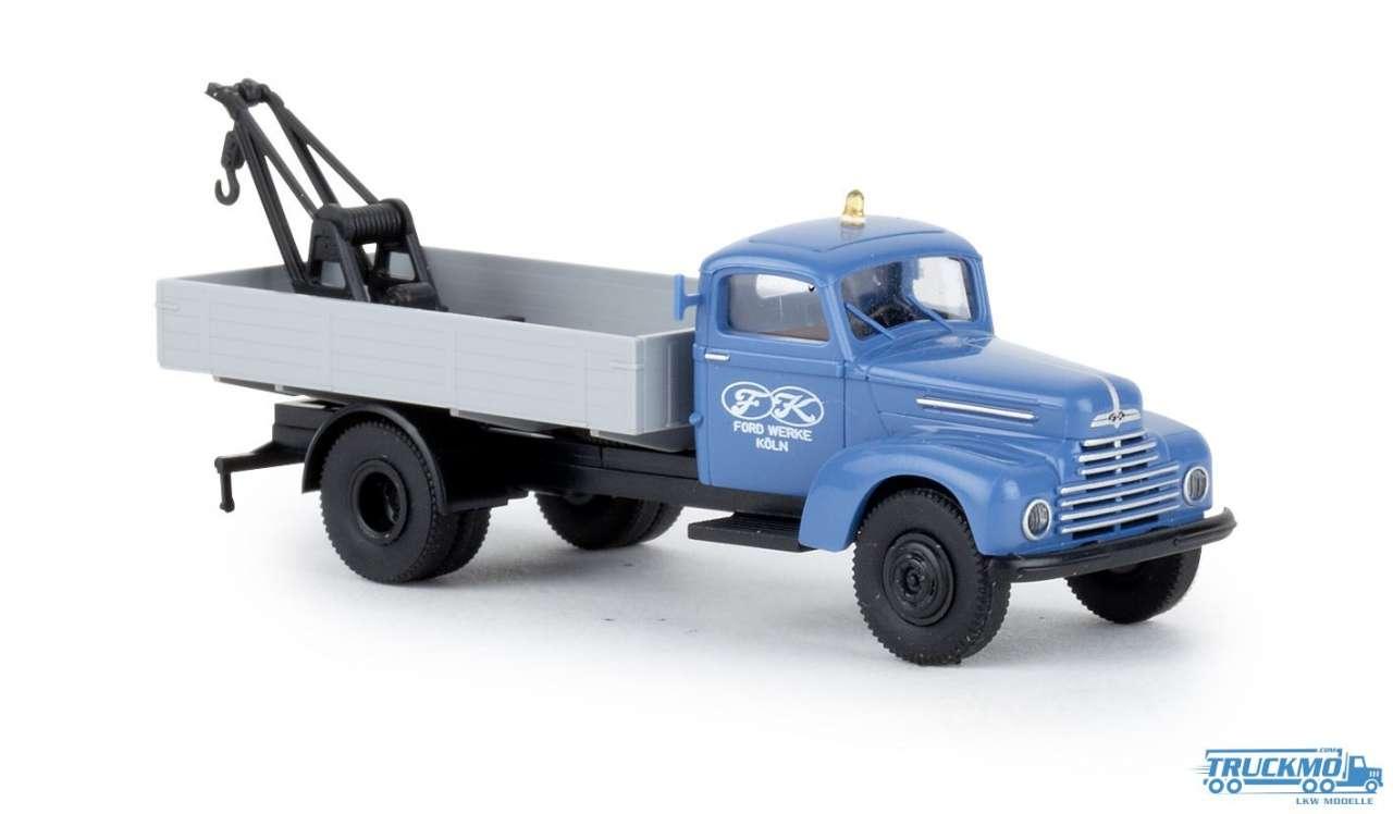 Brekina Ford Werke Ford FK 3500 Abschleppwagen 49033