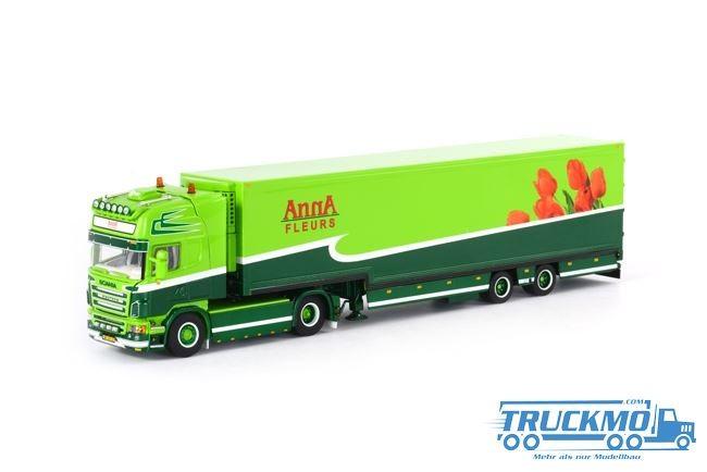 WSI Anna Fleurs Scania R Topline Semi Box Trailer