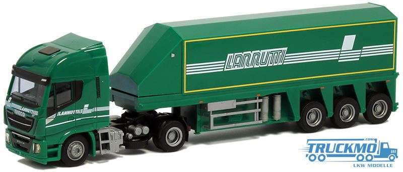AWM Lannutti Iveco Stralis HiWay XP Innenlader 9198.01