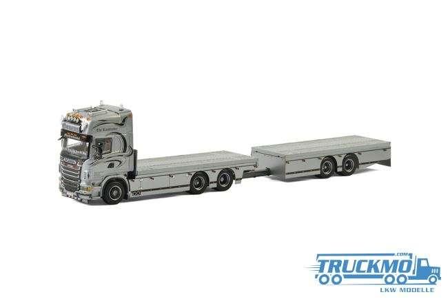 WSI Geuens Machinehandel SCANIA R Topline Hängerzug 01-2048 LKW Modell