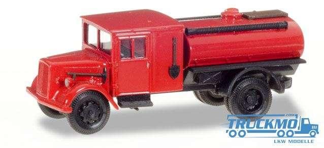 Herpa Feuerwehr LKW Modell Ford V 3000 Tanklöschfahrzeug 307963