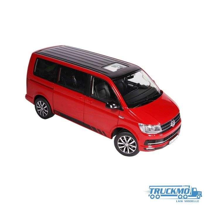 NZG Volkswagen T6 Multivan Edition30 rot 9542/10