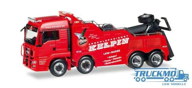 Herpa Kelpin MAN TGS LX Euro 6 Empl Bison 308410