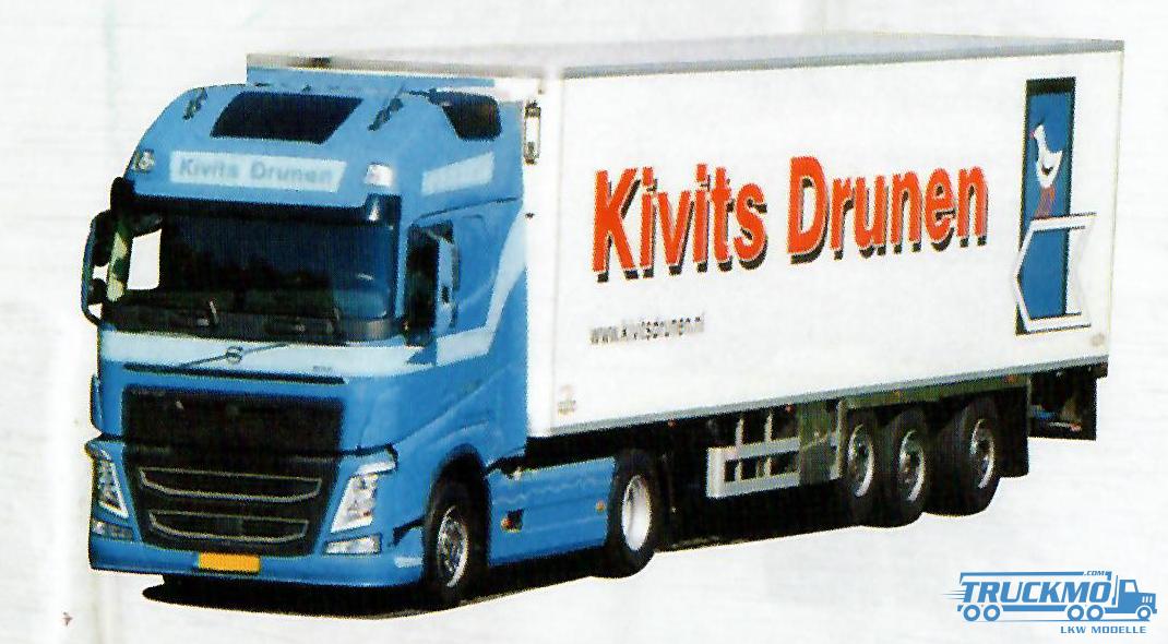 AWM Kivits Volvo FH12 Globetrotter Kühlauflieger 53776