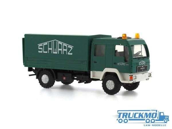 Rietze Schwarzbau MAN L2000 DoKa 68038