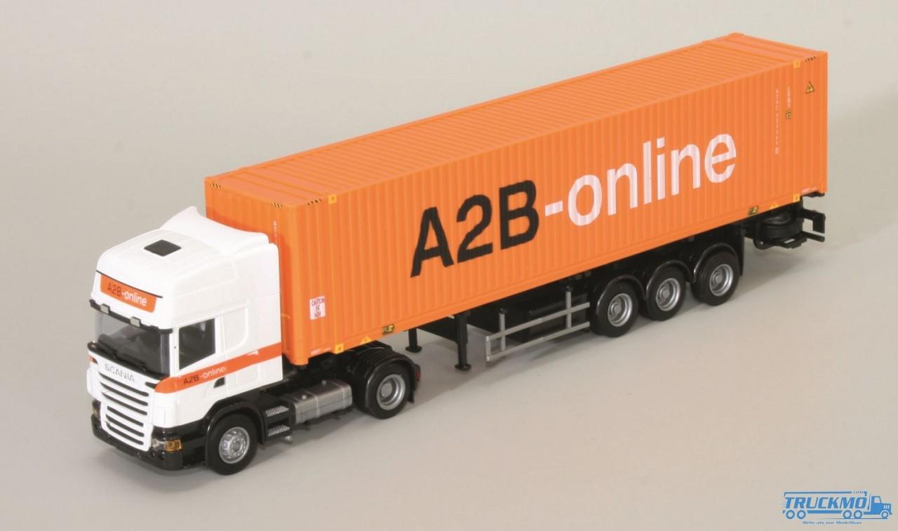 "AWM A2B-online Scania ""09"" Topl. / Aerop. - 45'Cont.-SZ"