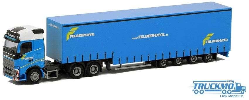 AWM Felbermayr Volvo FH12 Globetrotter XL Jumbo-Planenauflieger 8962.81