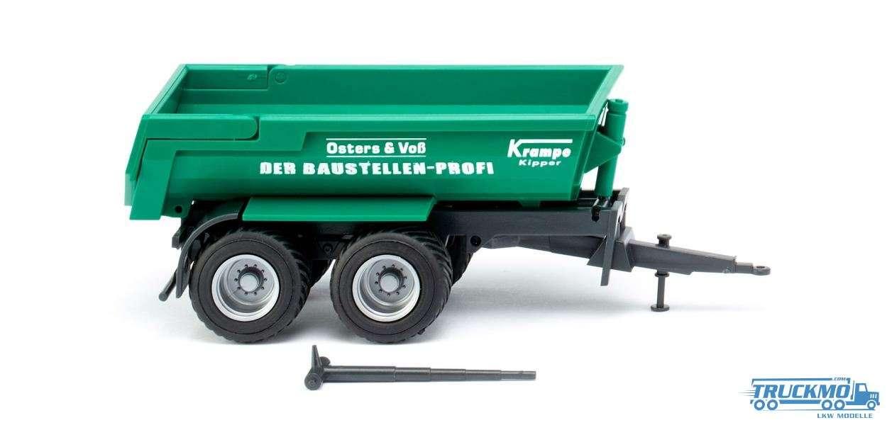Wiking Osters & Voß Krampe Halfpipe dump truck 038814
