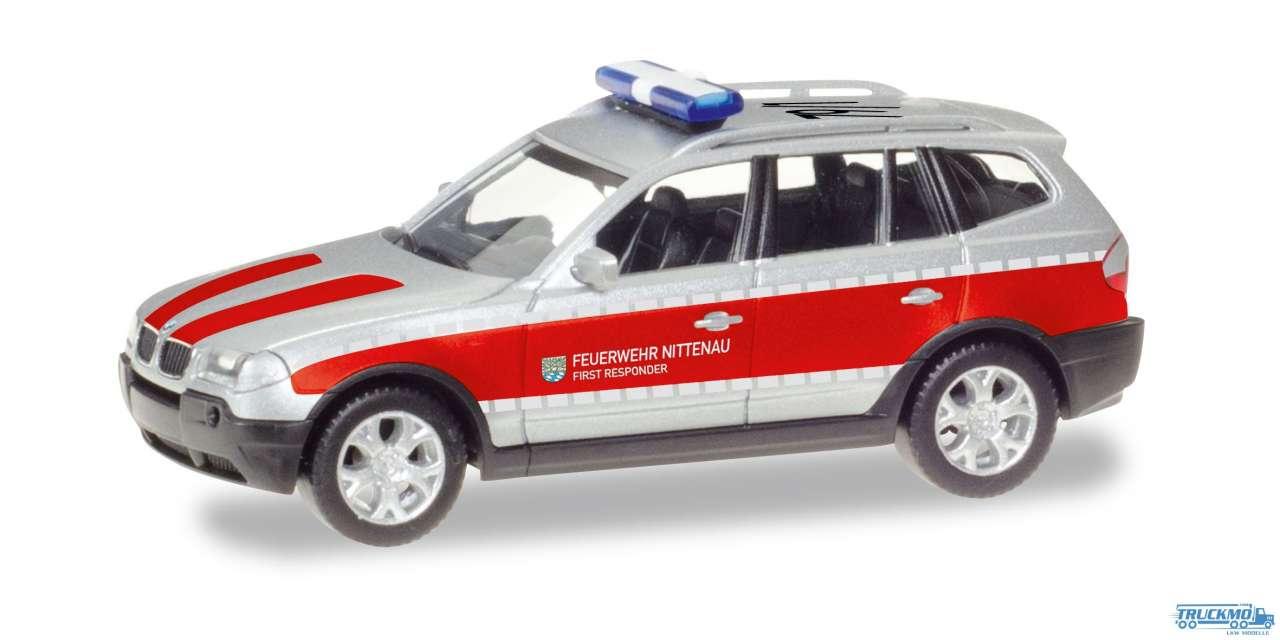 Herpa Feuerwehr Nittenau BMW X3 093262