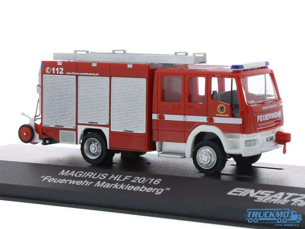 Rietze Feuerwehr Markkleeberg Iveco Magirus HLF 20/16 61213