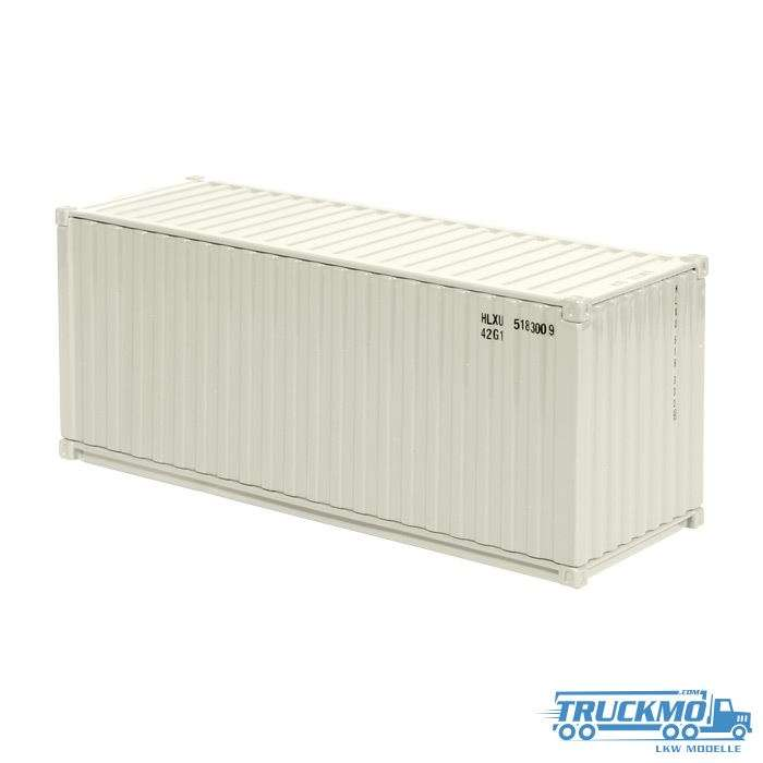 NZG 20ft See-Container Cremeweiß 875/13