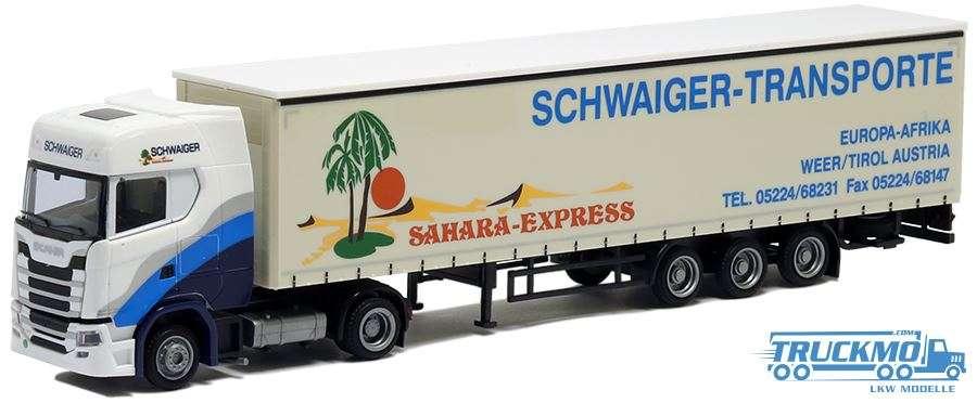 AWM Schwaiger Scania S Highline Planenauflieger 75601