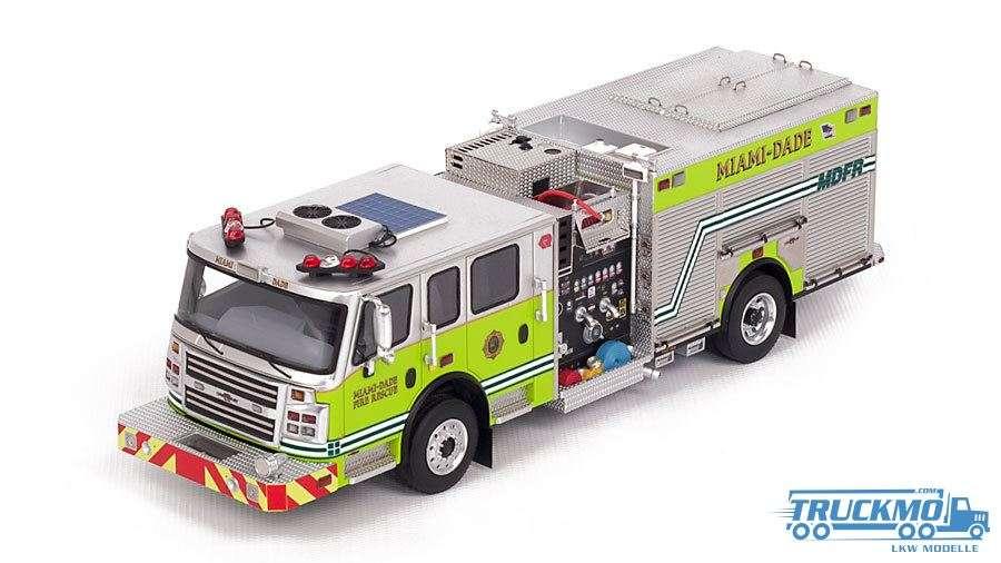 Fire Replicas Miami Dade Fire Rescue Rosenbauer Engine VFR006