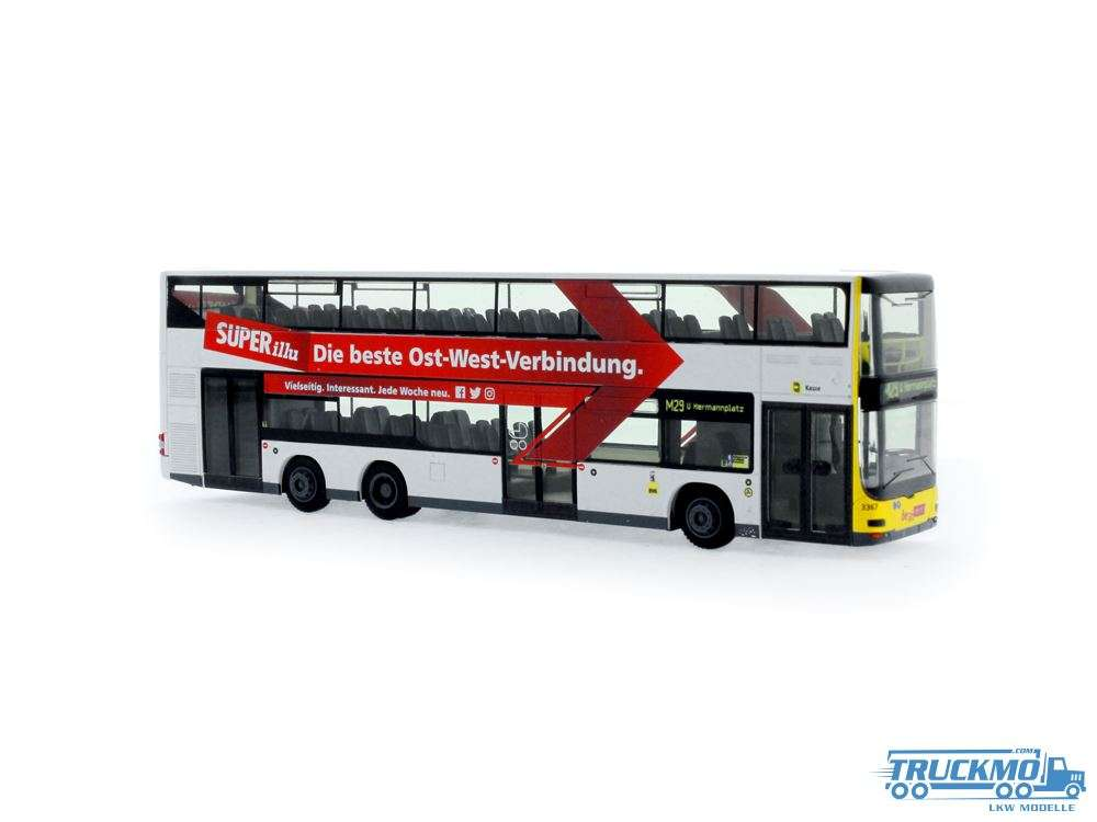 Rietze BVG Superillu MAN Lion´s City DL07 67784