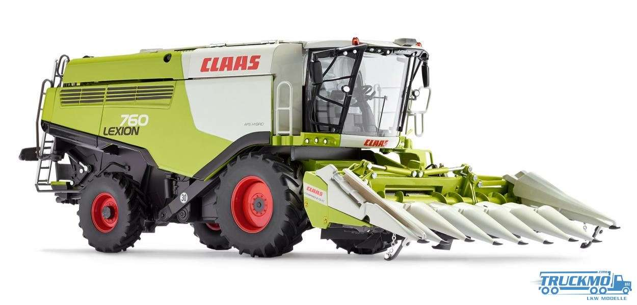 Wiking Claas Lexion 760 Harvester Conspeed Maisvorsatz 077340