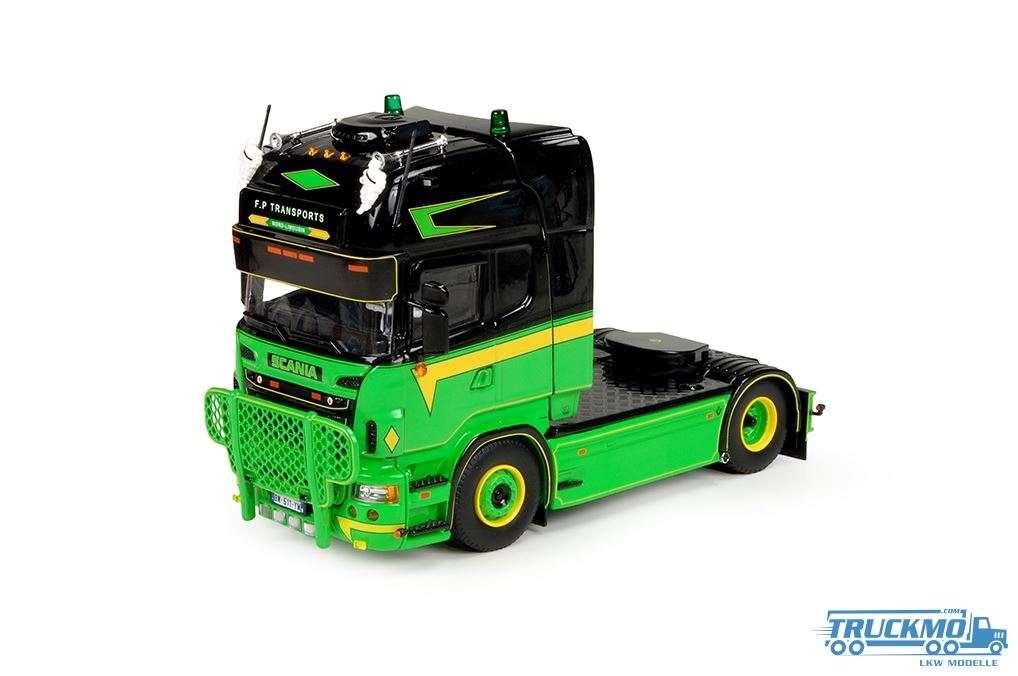 Tekno FP Transports LKW Modell Scania R Topline 4x2 70802