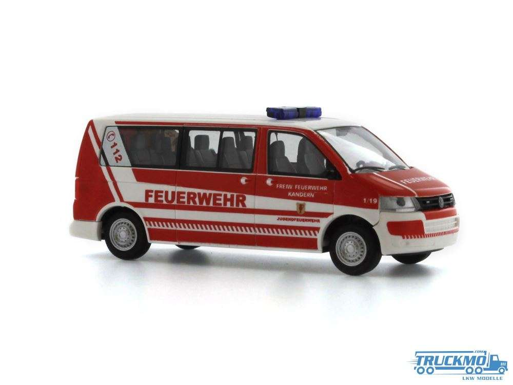 Rietze Feuerwehr Kandern Volkswagen T5 GP LR 53609