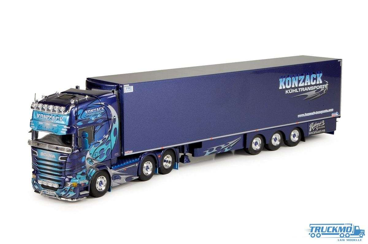Tekno Konzack Scania R-Streamline Topline Kühlauflieger 70878