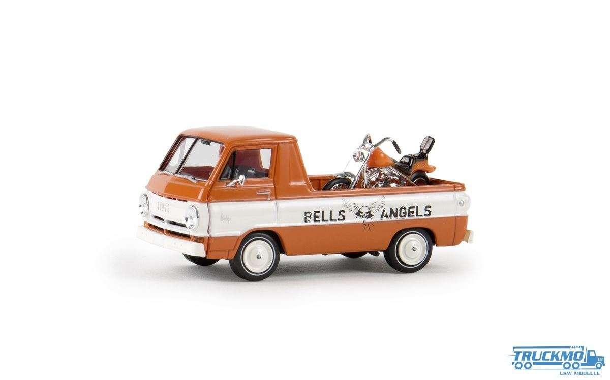 Brekina Hells Angels Dodge A 100 Pick-Up ohne Motorrad 34341