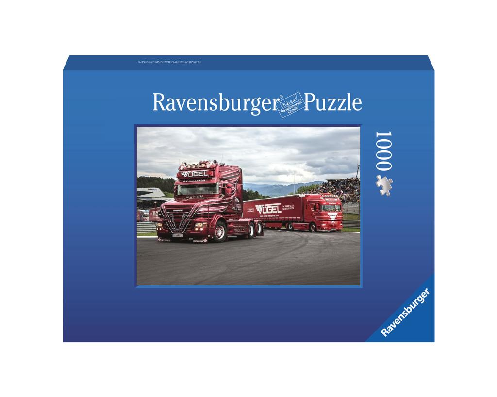 Vögel Transporte Ravensburger Foto-Puzzle 1000 Teile - Original Qualität