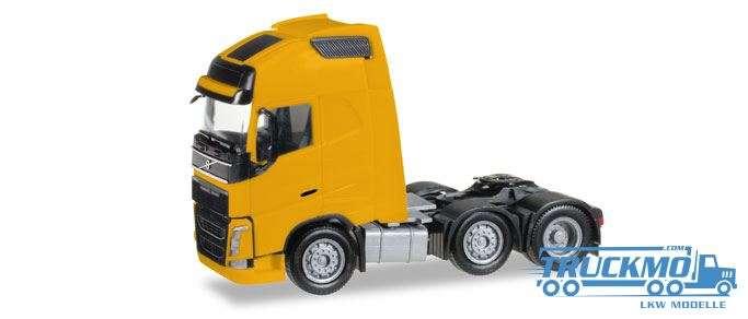 Herpa Volvo FH Gl. XL 6x2 Solo-Zugmaschine, gelb 305556-003