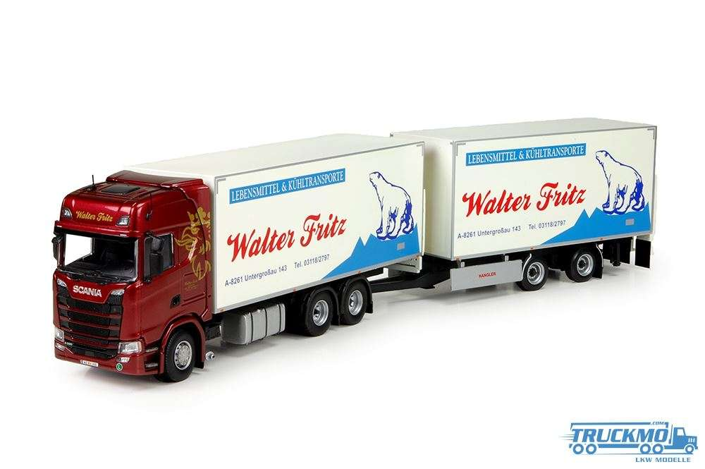 Tekno Walter Fritz Scania S730 Hängerzug 71164
