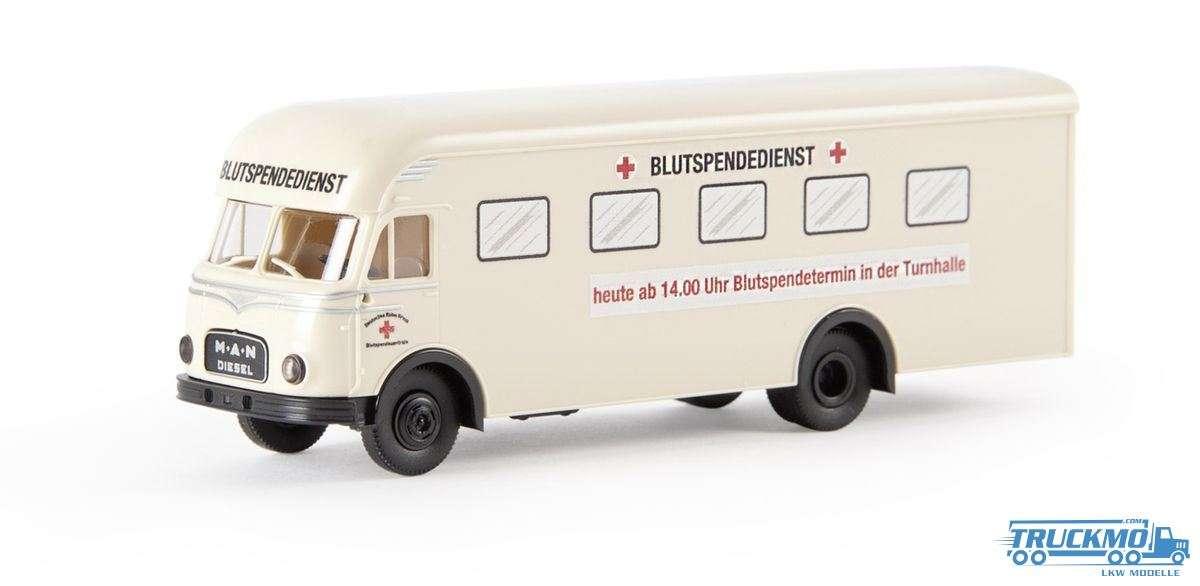 Brekina Modelle DRK MAN 635 Möbelwagen 57530