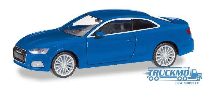 Herpa Audi A5 ® Coupé, scubablau metallic 038669-002