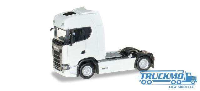 Herpa Scania CS20 HD Zugmaschine weiß 306768