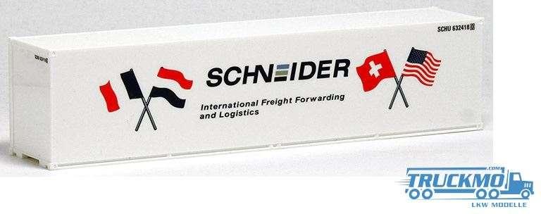 AWM Schneider 40ft. HighCube Container Glattwand 491707