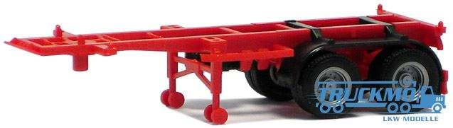 Herpa Container Chassis 20ft. rot 480004