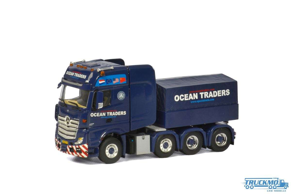 WSI Ocean Traders Mercedes Benz Actros MP4 Gigaspace mit Ballastbox 02-1448