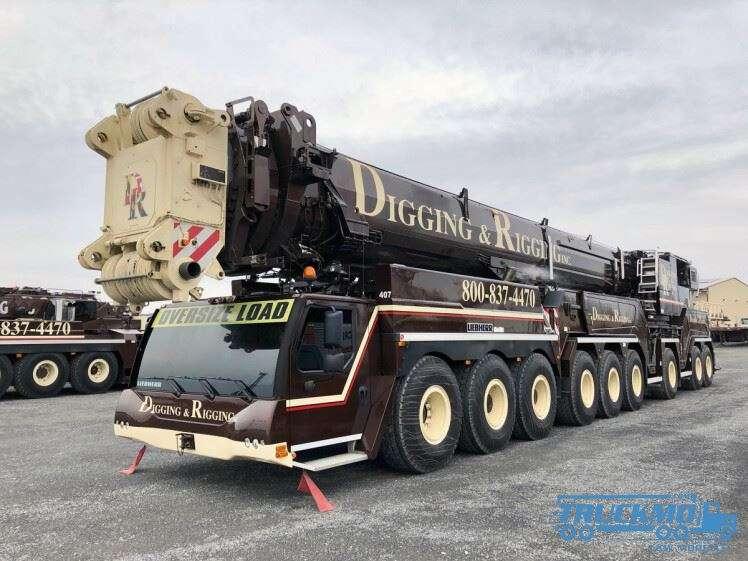 WSI Digging & Rigging Liebherr LTM 1750 51-2067