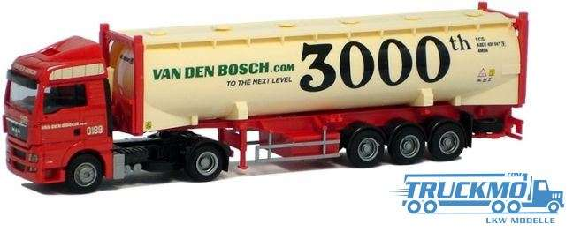 AWM Van den Bosch MAN TGX XLX Silocontainer-Sattelzug 53742