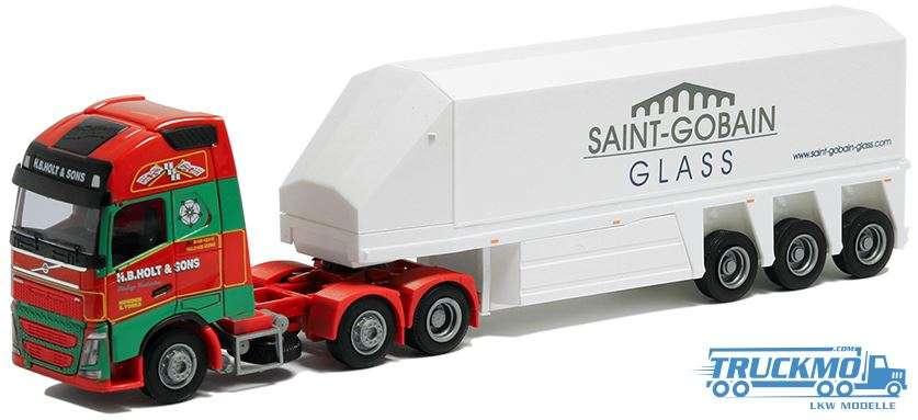AWM Holt / Saint Gobain Volvo FH12 Globetrotter XL Innenlader 75286