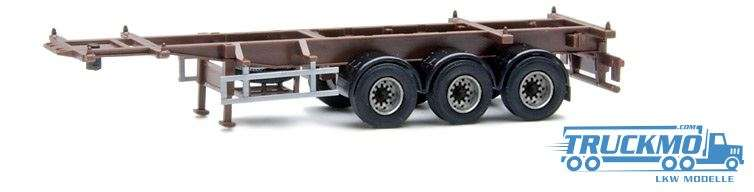 AWM 30ft. Trailer 3achs braun 480104