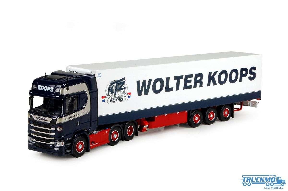 Tekno Wolter Koops Scania S Serie Highline mit Kühlauflieger 3 Achs 74702