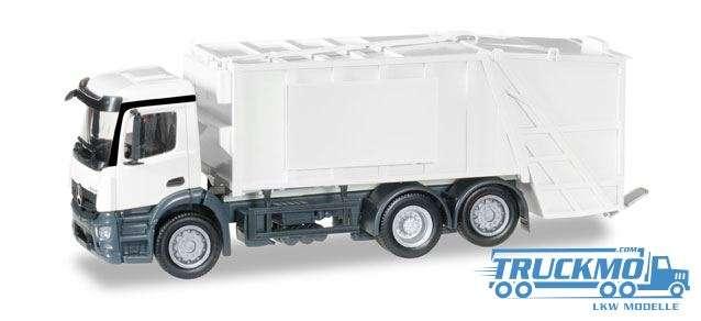 Herpa MiniKit: Mercedes-Benz Antos Pressmüllwagen weiß 012928