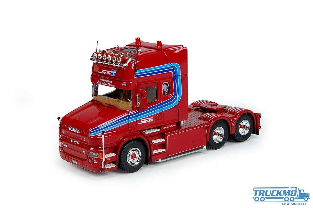 Tekno Sidler Scania Torpedo Topline 6x4 truck model 73110