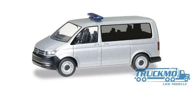 Herpa MiniKit: VW T6 Bus silbermetallic 012911