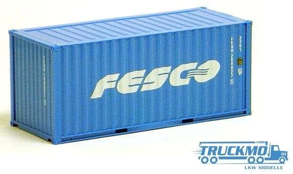 AWM Fesco 20ft. Container gerippt 491333